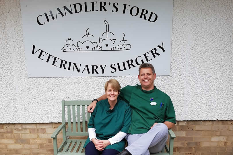 Chandlers Ford Vet Surgery Beyers and Clare Van Niekerk